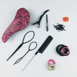 herramientas básicas para realizar peinados