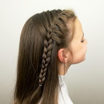 Peinado Princesa Leonor