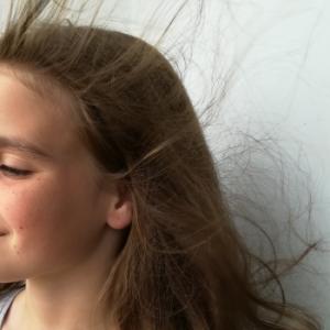 Dejar secar el pelo al aire