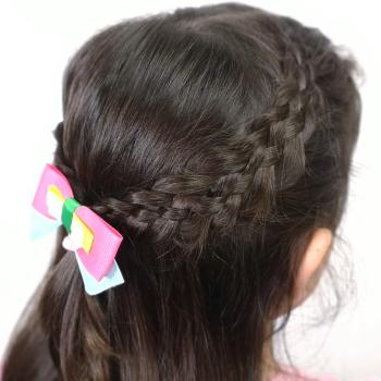 Peinados con trenzas de cuatro gajos