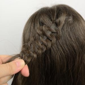 4 strand slide up braid