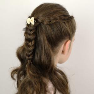 peinado para tu niña fácil