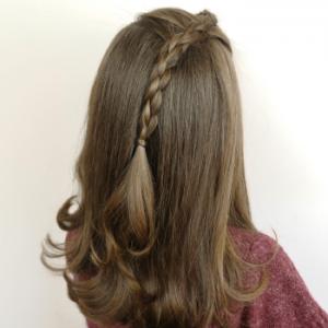 peinado sencillo con truco