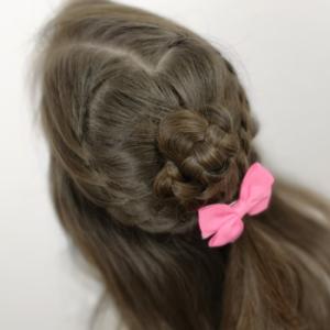 Peinado romántico con trenzas