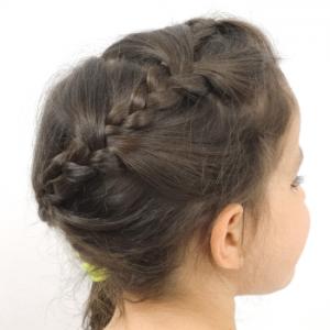 peinado fácil y rápido 2