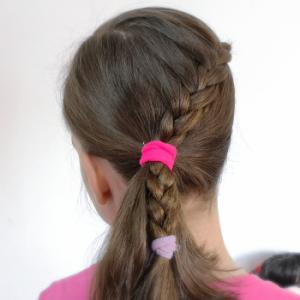 Peinado fácil y rápido 4