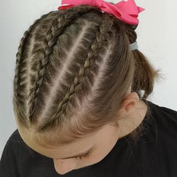 De moda peinados niña trenzas Galería De Consejos De Color De Pelo - Peinado para niñas con trenzas pegadas - Pequeinados