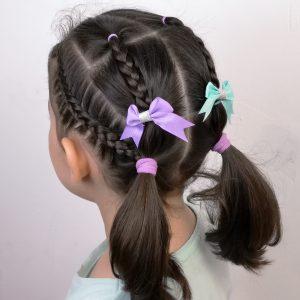 Peinados para niñas con trenzas faciles y rapidos
