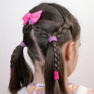 Peinado súper sencillo