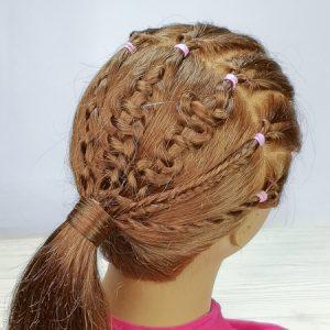Trenza de 4 cabos (peinados)