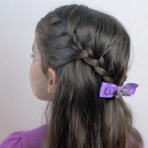 Peinado de fiesta para pelo corto