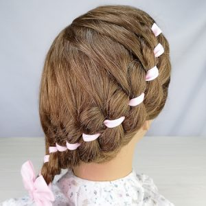 Trenza 4 cabos (peinados)