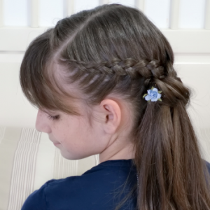 Peinado fácil y bonito