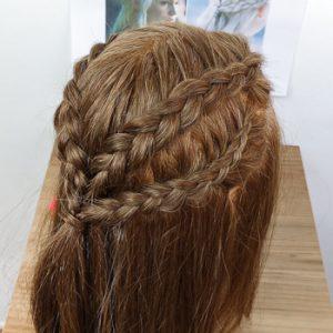 Peinado de Daenerys (peinado 1)