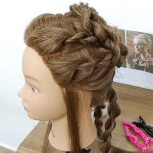 Peinado de Cersei Lannister