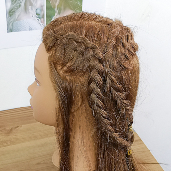 Peinado de Daenerys (peinado 2)