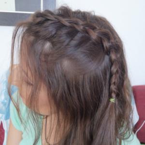 peinado fácil para las mamás