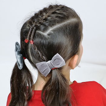Curso de Peinados Escolares con Dos Coletas