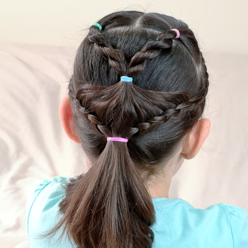Curso de Peinados Escolares con Una Coleta