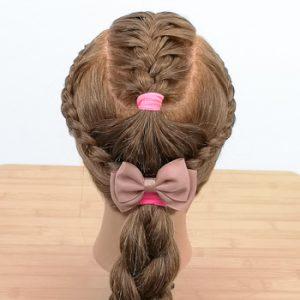 Peinado con forma de Concha