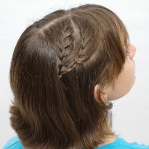 peinado sencillo para cabello corto