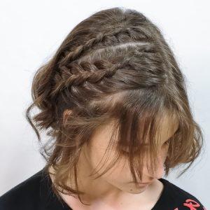 Peinado rápido de hacer