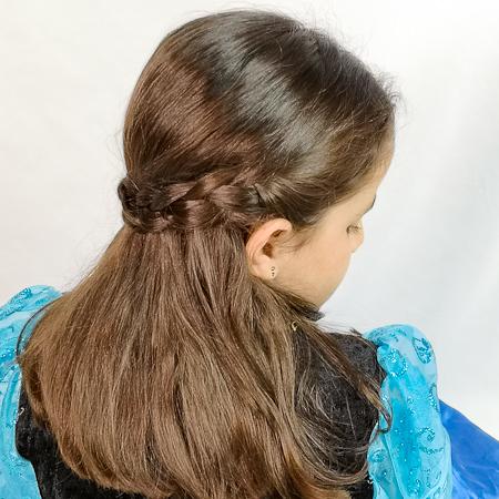 Peinado de Anna en Frozen 2