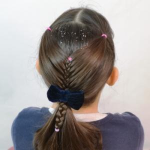 peinado fácil para niñas
