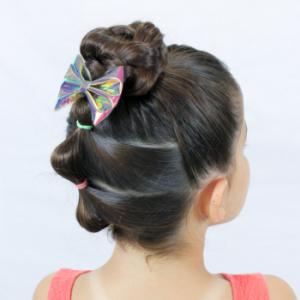 peinados de niña para el verano
